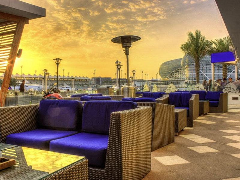 The Lounge – Abu Dhabi.
